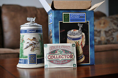 Anheuser Busch Waterfowl Flyway Series Beer Stein - Ducks Unlimited - CS397