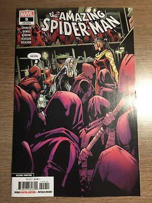 Amazing Spider-Man #9 - 2Nd Print Ramos Variant - Marvel (2019)