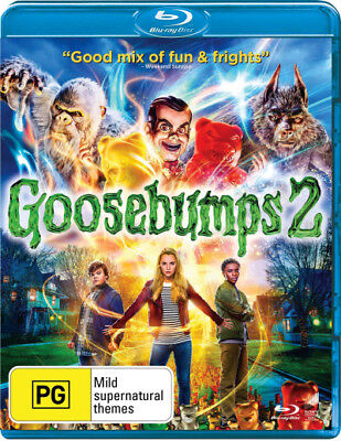 Goosebumps 2  - BLU-RAY - NEW Region B