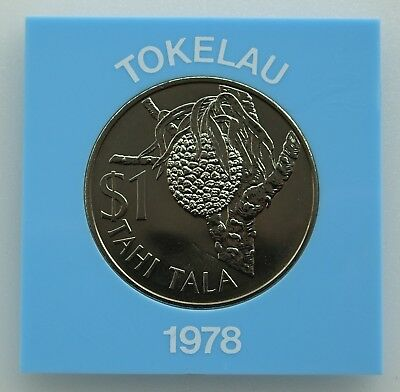 1978 - Tokelau One Tala Coin