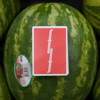 Fontaine Playing Cards Watermelon! Very Rare! Limited 2500! Order Confirmed!