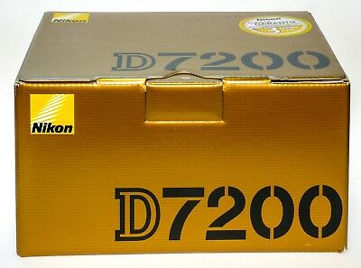 Nikon D7200 Body     Empty BOX ONLY  Original Nikon