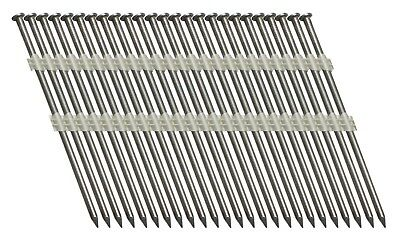 "4-1/2"" x .134"" 20° Screw Shank Bright Plastic Strip Jumbo Nails (1,250) FASCO"