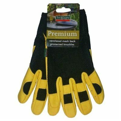 Town & Country Breathable Gardening Thorn Proof Resistant Rose Pruning Gloves