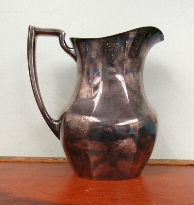Oneida Deauville Silverplate Water Pitcher No Monogram #15962