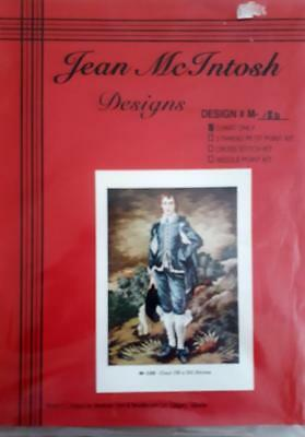 JEAN McINTOSH Needlework Chart #M-180 BLUE BOY