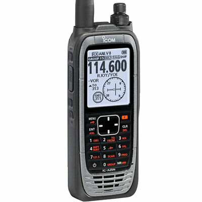 ICOM IC-A25N (New) Handheld Nav/Com Transceiver w/Bluetooth *$50 Mail-In Rebate*