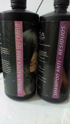 BRAZILIAN TREATMENT STRAIGHTENING Loss VOLUMEN Frizz deep hydration Brazil