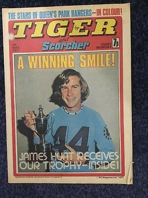 TIGER AND SCORCHER COMIC 7th MAY 1977