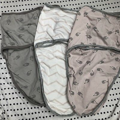 Mamas And Papas Swaddle Wraps Baby Girl
