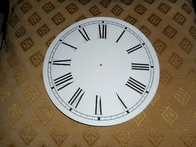 Round Paper Clock Dial- 164mm M/T - Roman- MATT WHITE- Face /Clock Parts/Spares