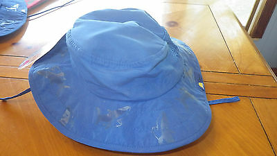 3aaca2de24a NWT SUN PROTECTION Zone Boys Blue Adjustable Booney Hat UPF 50+ Fits ...