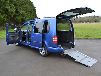 Volkswagen Caddy Maxi Life 1.6TDI C20 Wheelchair Accessible Vehicle WAV 2014 64