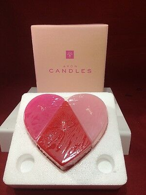 Avon Puzzle Heart Candle