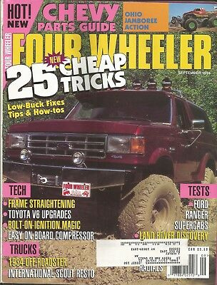 2016 FOUR WHEELER Magazine: Mud Whompin'/1948 Ford Truck/1960s Chevy