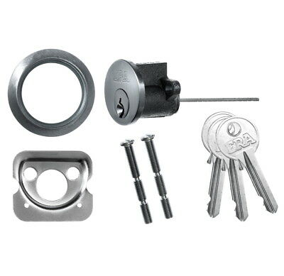 ERA 863-51 ERA Rim Cylinder with 3 Keys - Satin 44mm