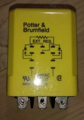 Potter & Brumfield time delay relay CUF-41-70120, new - unboxed