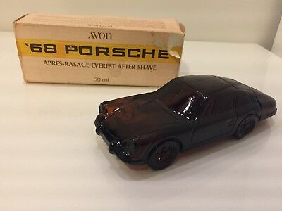 Avon '68 Porsche After Shave Bottle & Original Box