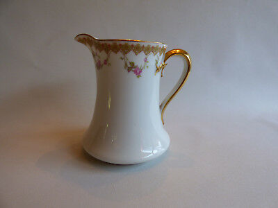 Antique Haviland Limoges France Creamer - Perfect Condition - Marked D.2