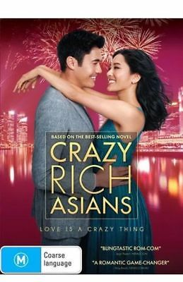 Crazy Rich Asians BRAND NEW Region 4 DVD