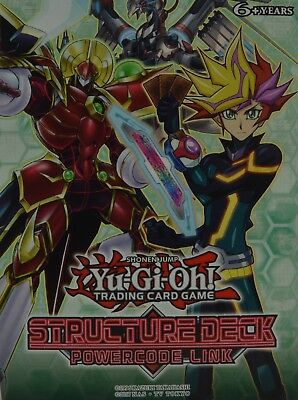 YuGiOh Powercode Link Structure Deck, SDPL, Common 1st Ed. Choose from list.