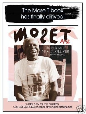 """Folk Art Mose Tolliver  -Book By Anton Haardt """"Mose T From A to Z"""""""