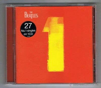 THE BEATLES- 1 No.1's CD (2000) Best of/Greatest Hits 27 No.1 Singles On 1 CD