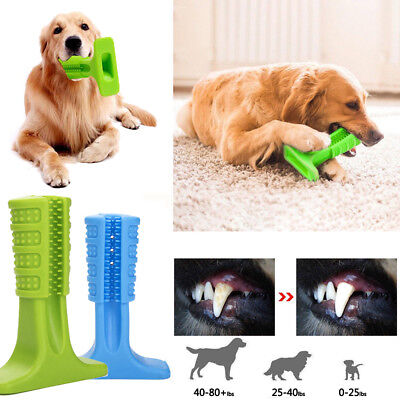 Pet Brushing Stick Dog Toothbrush Cleaning For Dog Pet Oralcare Chew Toy S M L