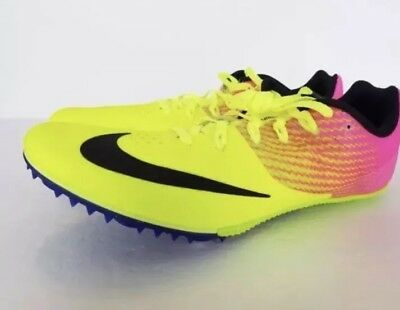 749a1a0fda0 NIKE ZOOM RIVAL S 8 OC Mens Track Spikes Sprint Racing Shoes 806554 ...