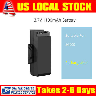3.7V 1100mAh Battery Accessories Replacement For SG900 Drone Quadcopter Racing