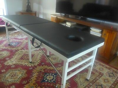 Foldable Massage Table Beige Great Condition