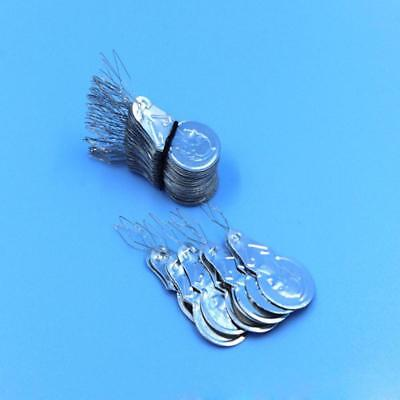 Home New Silver Tone Needle Threader Stitch Insertion Hand Machine Sewing Tool