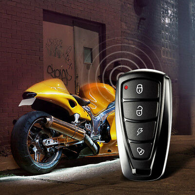 Steelmate 986F 1 Way Motorcycle Alarm System Engine Immobilization Remote K2X5