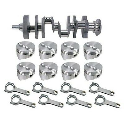 Forged SB Chevy Rotating Assembly-395 .400 Dome-350 Main-6 Rod-.00 OS