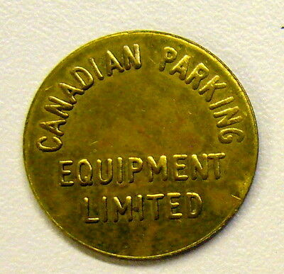 Canadian Parking Equipment Ltd/Good For Parking Only Token