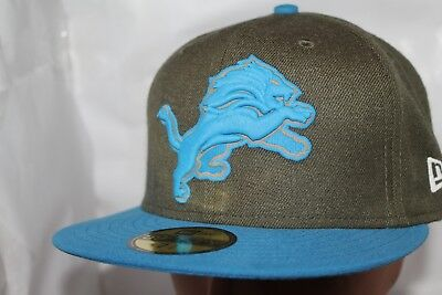 finest selection 16ef1 721f1 Detroit Lions NFL New Era Salute To Service 59Fifty Hat,Cap   40.00 NEW