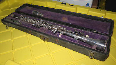Silva bet Stencil --sious robert silver metal clarinet for restoration