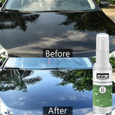 20ml HGKJ-6 Nano Hydrophobic Car Glass Coating Wax Ceramic Polish Paint Liquid