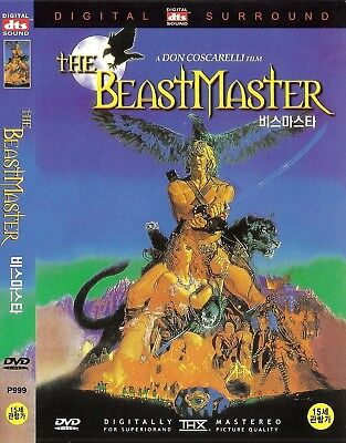 The Beastmaster (1982) Marc Singer / Tanya Roberts DVD NEW *FAST SHIPPING*