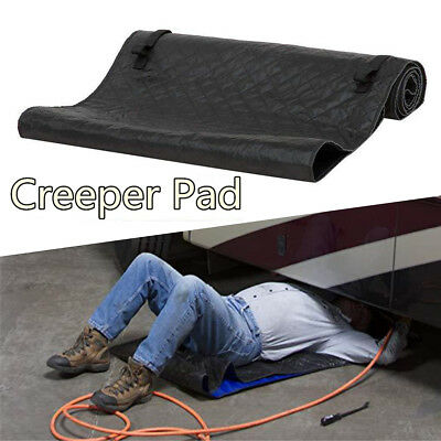 Mechanics Creeper Rolling Garage Auto Car Repair Work Tool On The Ground 1pcs