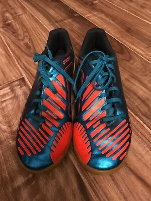 efba54a6d08 Adidas PREDITO Predator Indoor Court Soccer Shoes Men s US Size 7 Blue Gum