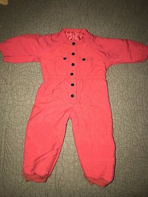 Authentic American Girl/Pleasant Company Brand Red Snow Suit~Dog Sled Outfit