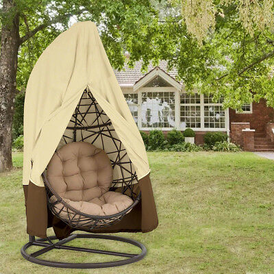 Porch Swing Chair W Stand Patio Rattan Hanging Hammock Outdoor