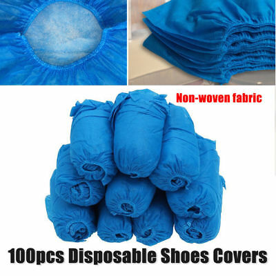 100 Wearable Disposable Anti Skid Durable Non Woven Fabric Non-slip Shoe Covers