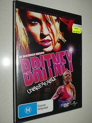 Britney Unbreakable dvd Region 4 *Brand new and sealed*