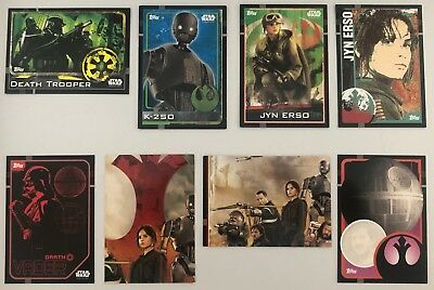 Star Wars Rouge One TCG Common Lot x 8