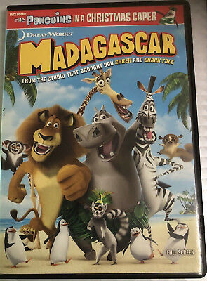 Disney DVD Movie - Madagascar (Full Screen Edition) USED - Good Condition