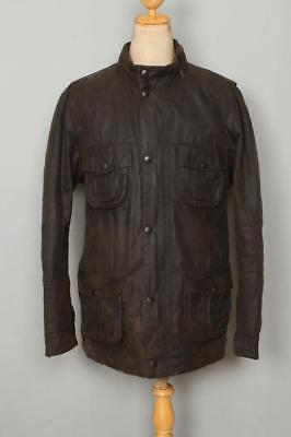 BARBOUR Sapper WAXED Jacket Olive Size XLarge