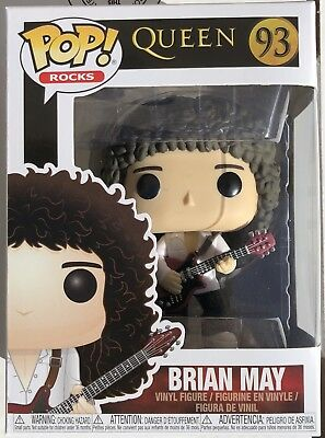 ON HAND Funko Pop Rocks: Queen - Brian May #93 ON HAND!