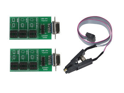 UPA USB v1.3 Chip Programmer Eeprom Board Adapter with SOP8 SOIC8 Clip